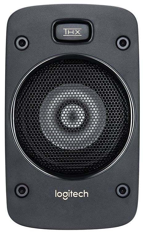 Speaker Logitech Z906 5 1 Speakers logitech z906 logitech 5 1 speaker system black at