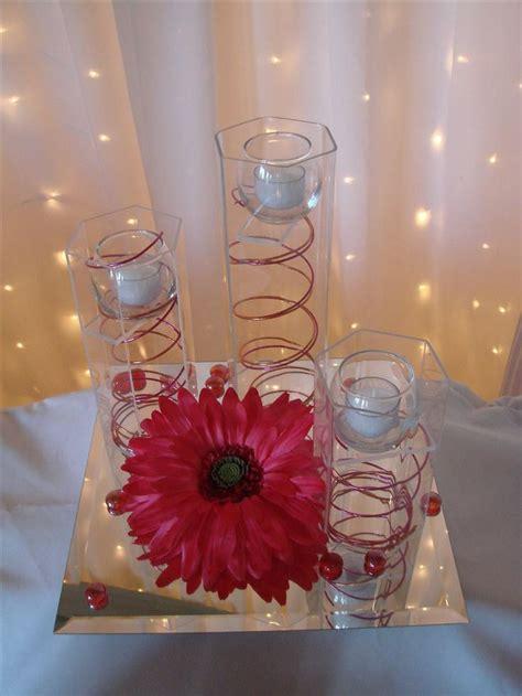 centerpieces wedding ideas gerber daisies
