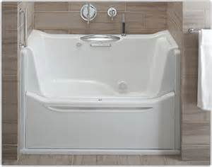 Handicap Accessible Bathtubs Amazon Com Kohler K 1913 L 0 Elevance Rising Wall Bath