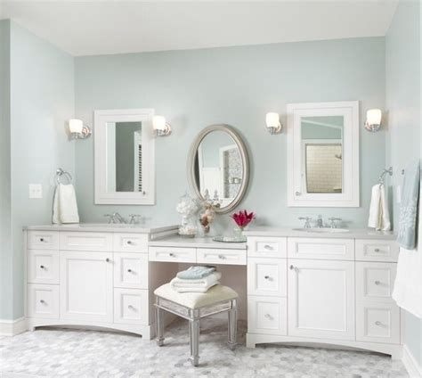 Bathroom Vanity With Makeup Sinks With Make Up Vanity Bathrooms Pinterest Sinks Vanities And Tile