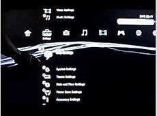 How to setup HDMI on your PS3(Display and Sound settings ... Hdmi Cable To Tv Setup