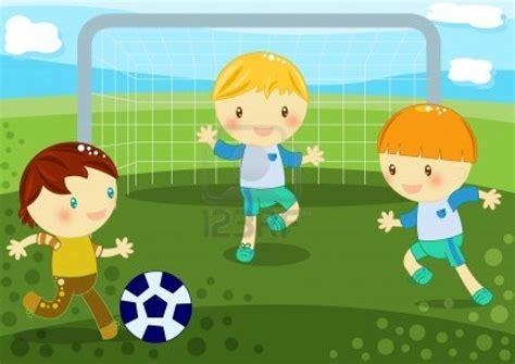 imagenes de niños jugando futbol en caricatura imagenes ni 241 os jugando futbol