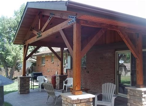 Rustic Patio Covers by Ibbison Patio Cover