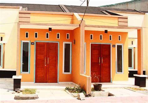 arsitektur desain warna cat luar rumah minimalis
