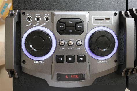 Subwofer Active 10 Inch Usb Sd Radio Input 3 5mm B Murah feiyang temeisheng active 2 0ch dual 12 inch sound box big power stage speaker with bt eq usb sd