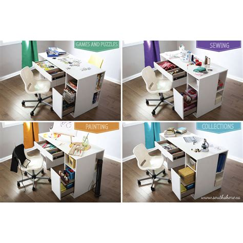 south shore craft desk south shore sewing cabinets home furniture decoration