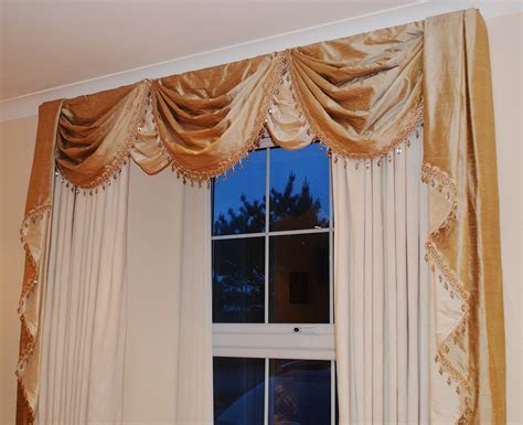swags and drapes curtains valances and swags swags and jabots gathered