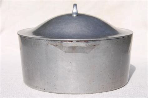 Oven Aluminium Hock No 2 vintage aluminum oven big 4 qt chili stew pot for c cookware