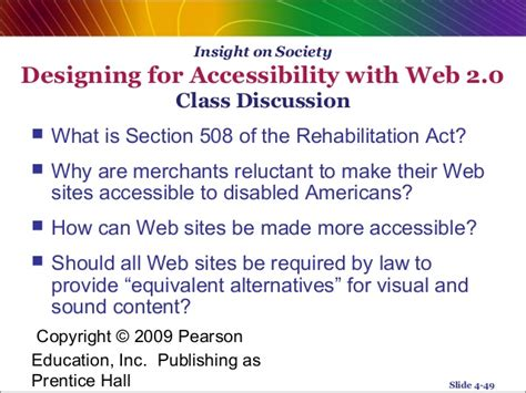 what is section 508 of the rehabilitation act e commerce system analysis chapter 4