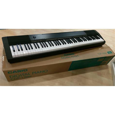casio cdp 130 casio cdp 130 black digital piano customer return boxed