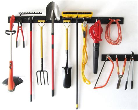 Very Useful Tool Racks For Home And Office Garden Tool Wall Storage