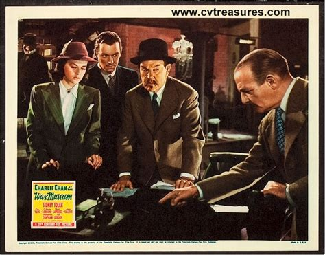 watch charlie chan at the wax museum 1940 full movie trailer quot charlie chan at the wax museum quot original vintage movie poster lobby card 11x14 quot starring