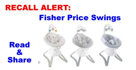 natures purest swing recall recall alert fisher price infant swings share with all
