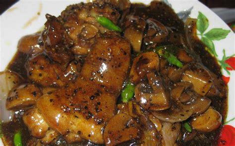 Minyak Ikan Buat Ayam Aduan resepi ayam masak lada hitam resepi bonda
