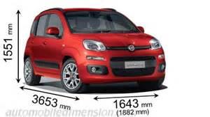 Fiat Panda Dimensions Dimensioni Di Auto Fiat Lunghezza X Larghezza X Altezza