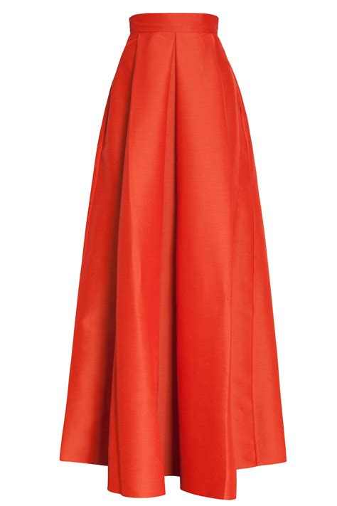 Maxi A Line By Irbah a line skirt redskirtz