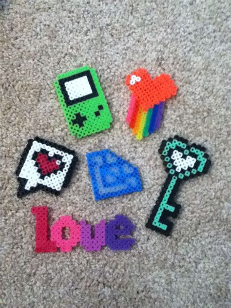 one perler 17 best images about pixel on perler bead