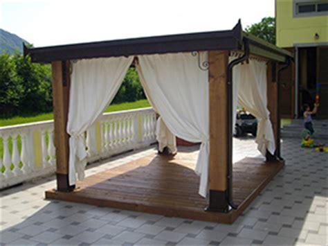 struttura gazebo in legno vendita gazego in legno brescia edil garden brescia