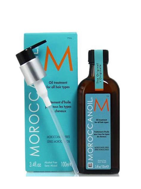 moroccanoil moroccan oil treatment for all hair types moroccanoil treatment for all hair types 125ml hairtrade