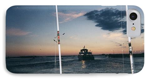 captree party boats winter fishing party boats leaving captree photograph by