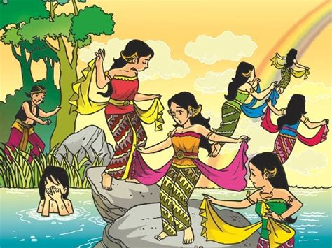 Legenda Dan Dongeng Nusantara Telaga Biru widyawati s world contoh contoh mitos legenda dan