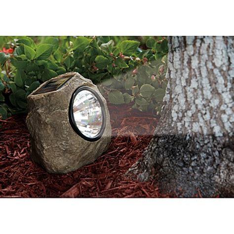 Solar Rock Lights For Garden Buy Solar Powered Garden Lights From Bed Bath Beyond