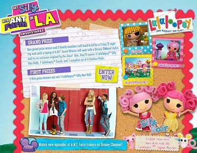 Disney Channel Com Sweepstakes - disney get silly with a n t farm in la sweepstakes