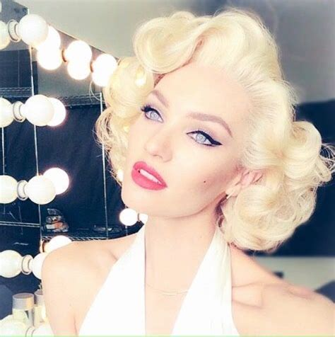 marilyn monroe updo 197 best pinup hair styles makeup images on pinterest