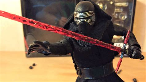star wars the force 0241201160 mafex kylo ren review star wars the force awakens figure youtube