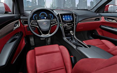 Cadillac Interior by Cadillac Ats Vs Bmw 3 Series Motor Trend