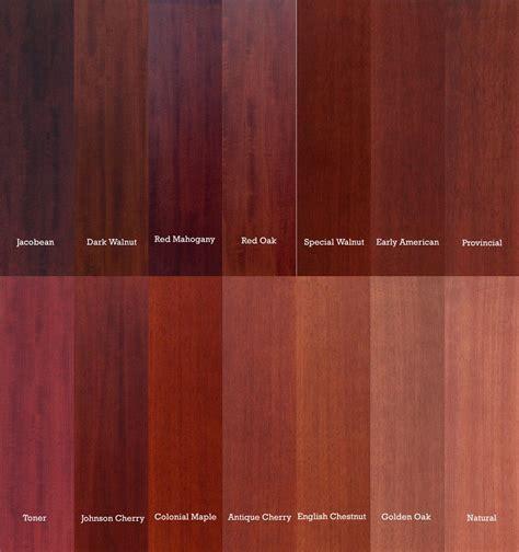 oak color mahogany vs oak color comparison search