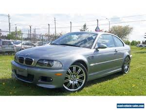 Bmw E46 M3 For Sale 2002 Bmw M3 For Sale In Canada