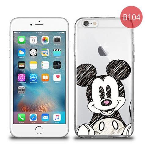 przezroczyste etui z nadrukiem iphone 6 6s myszka mickey miki 4kom pl