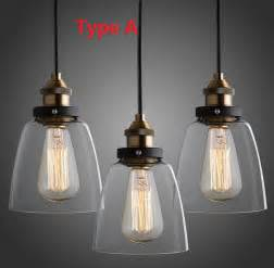 pendant light fixtures kitchen nordic vintage edison pendant lamp american country