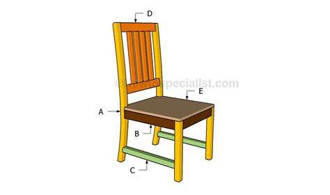 kitchen chair designs kitchen chair plans howtospecialist how to build step