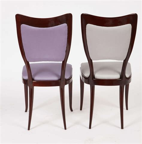 12 Dining Chairs Important Set Of 12 Dining Chairs By Paolo Buffa At 1stdibs