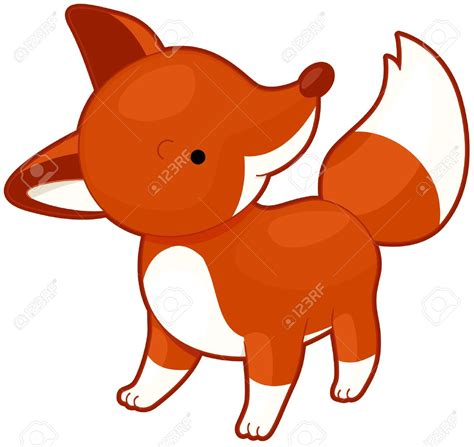 clipart fox red fox clipart cute pencil and in color red fox clipart