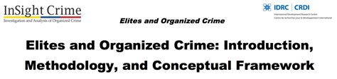 organized crime research paper thesis for organize crime writing service