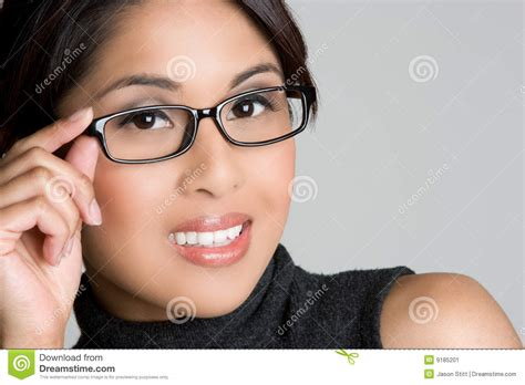 asian eyeglasses stock image image 9185201