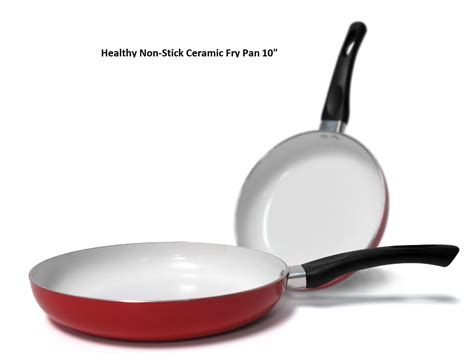 10 Ceramic Fry Pan by 10 Inch Healthy Nonstick Ceramic Coated Frying Pan Eco