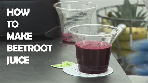 how is it to make how to make beetroot juice