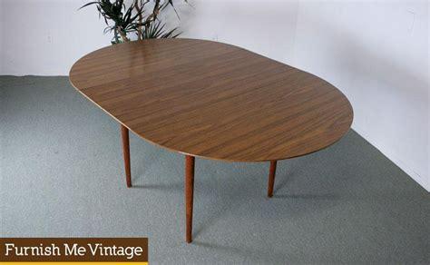 mid century modern oval dining table mid century modern circle oval formica dining table