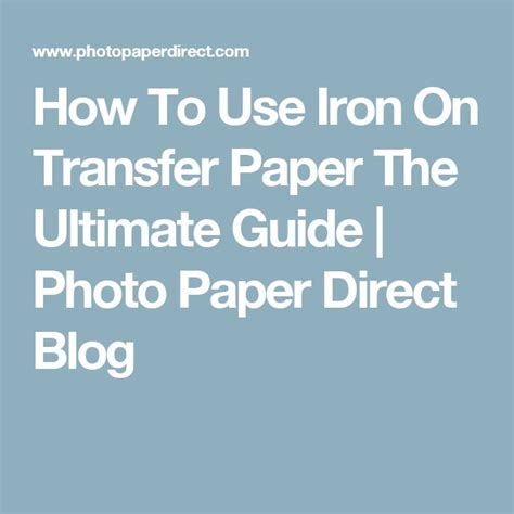 How To Make Iron On Transfer Paper - best 25 iron on transfer ideas on iron on