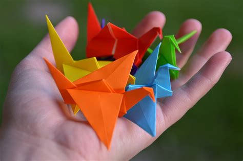 Paper Folding In Mathematics - origami mathematics in creasing