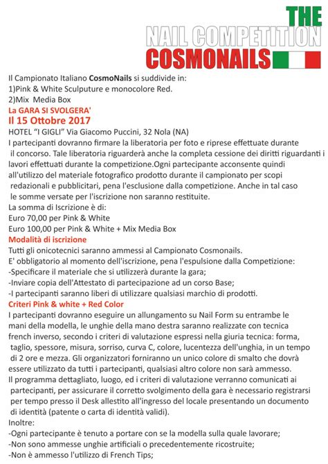 Nail Competition 2017
