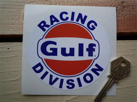 Gulf Racing Aufkleber by Gulf Racing Division Sticker 4 Quot