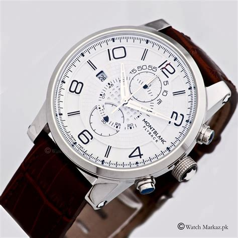 Montblanc Flyback Leather Bw For montblanc flyback chronograph limited edition watchmarkaz pk watches in pakistan rolex
