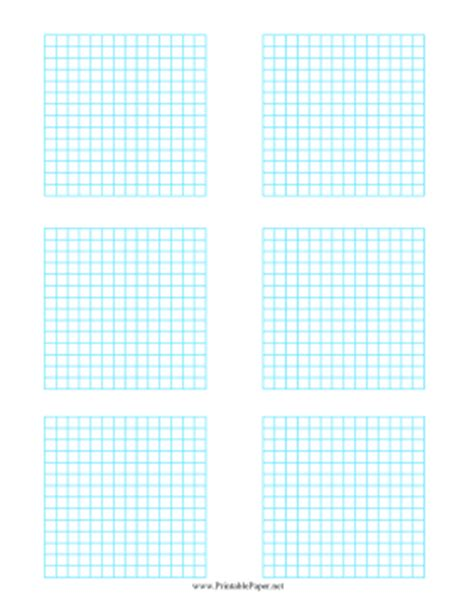 printable graph paper with 6 graphs printable multiple graphs 6 per page