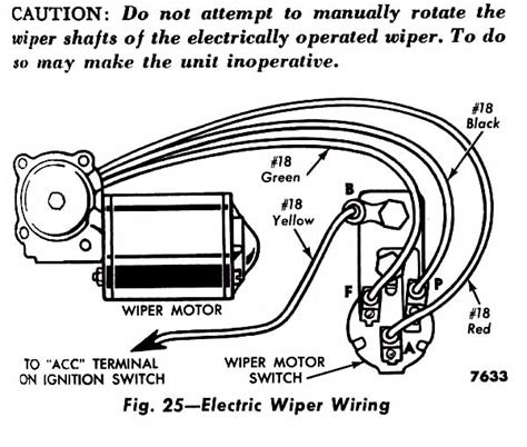 mopar wiper motor wiring diagram wiring diagram
