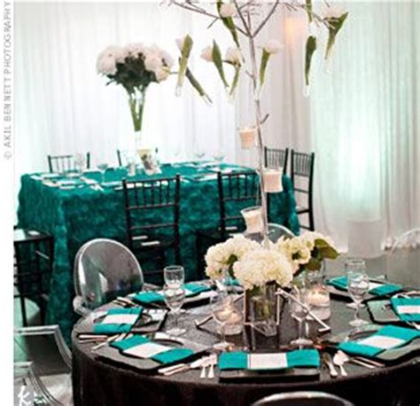 black blue and silver table settings teal black silver white if i go with the teal table i